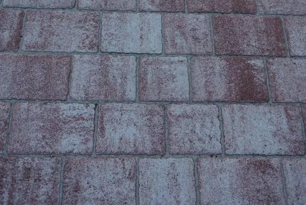 Santino terrakotta gestockt (Betonstein)