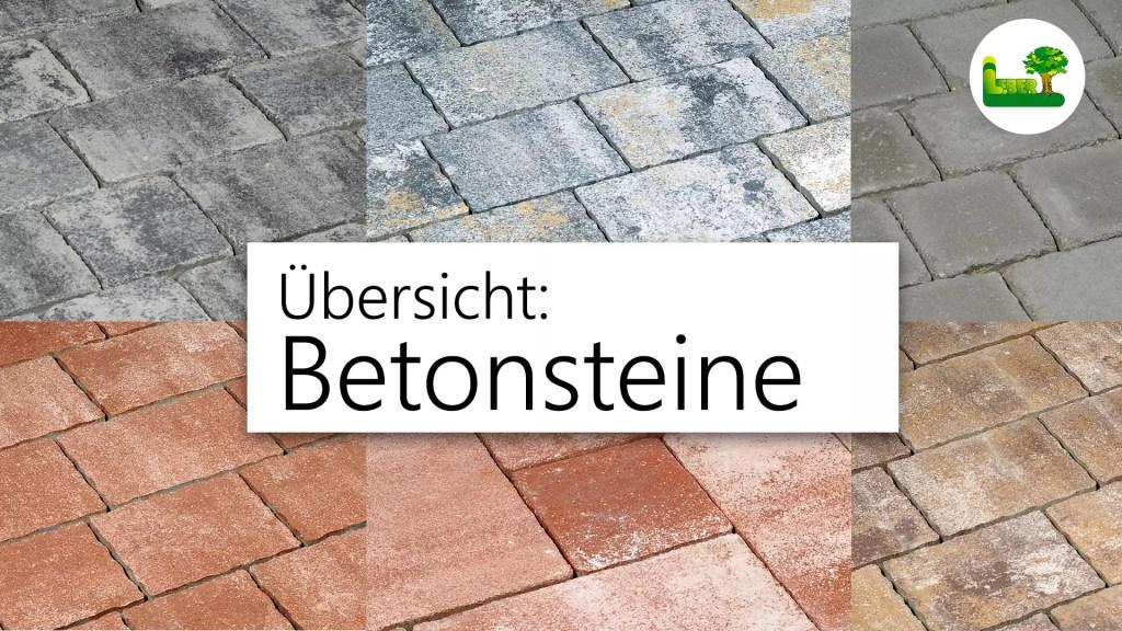 Betonstein Pflasterung. Eine Übersicht über all unsere Betonsteine. Ihr Pflastermeister aus der Steiermark.