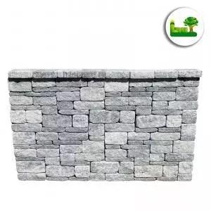 Die Gala Mauerblocksteine sind ein Systemmauerwerk. Sie können immer mit demselben Muster versetzt werden und sehen so noch besser aus. Garten Leber aus Jagerberg.