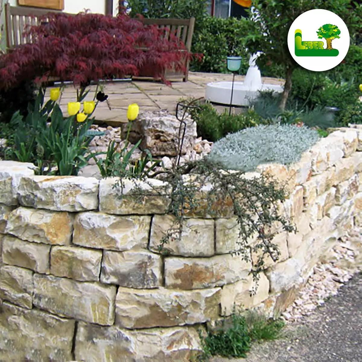 Gartenmauer Aus Naturstein Ideen Beispiele Bilder