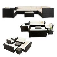 lI Il Garten Lounge - Napo Polyrattan Garten Lounge Alu
