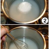 Hochkonzentrierte Zuckerlösung