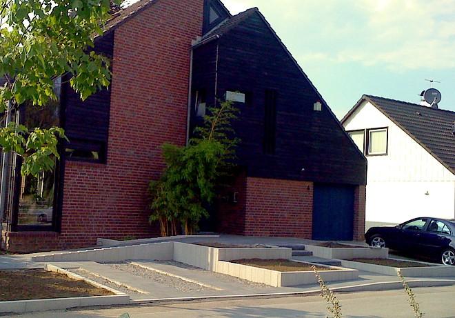 barrierefreier Vorgarten  Modern und pflegeleicht