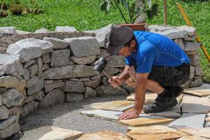 Natursteinmauer Bauen Anleitung Und Kosten Übersicht
