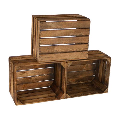 Holzkisten Als Regal Wohnzimmer Grundriss Ideen