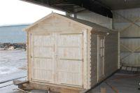 Autogarage kaufen Garage mit Holztor - Sams Gartenhaus Shop