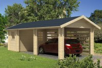 Carport - Garage - Abstellraum - 70mm - Sams Gartenhaus Shop