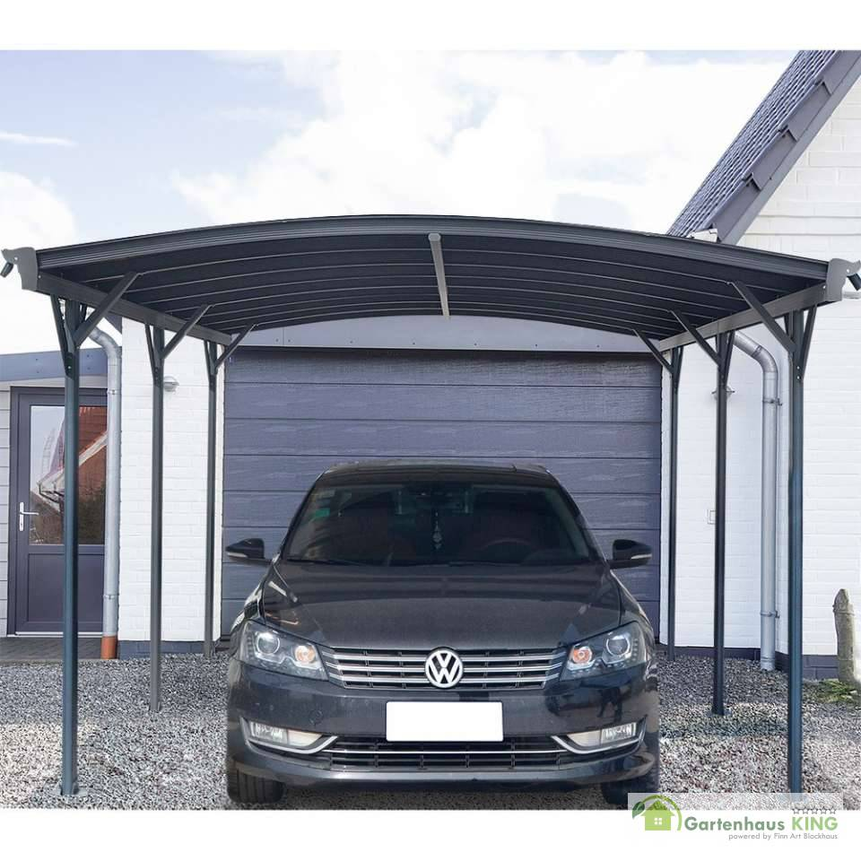 carport falo aluminium einzelcarport 300 x 505 x 224 237 startseite design bilder. Black Bedroom Furniture Sets. Home Design Ideas