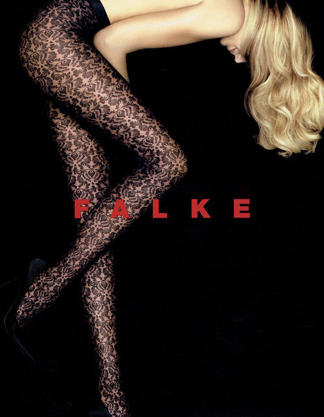Falke, Allover Lace Tights, $48
