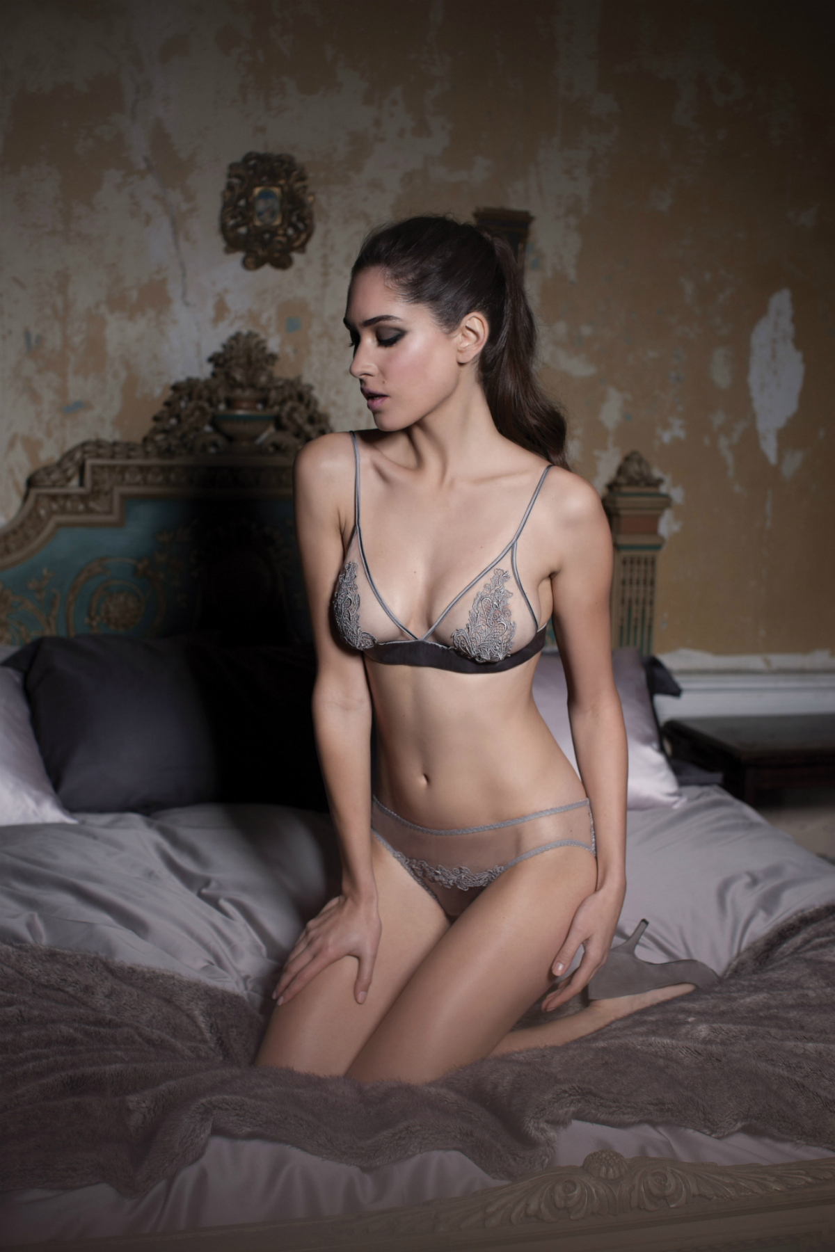 Heiress Boudoir Bra and Brief Front-1200