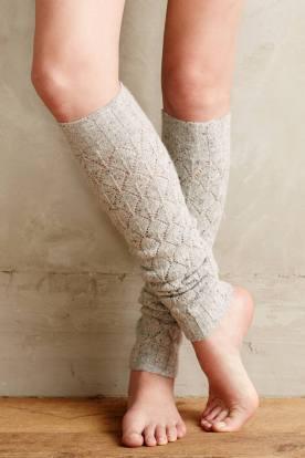 Wool Legwarmers by Hansel From Basel, $38 (шерсть, хлопок, шёлк)
