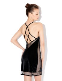 Estefania-AW14-Black-Evening-Slip-Back