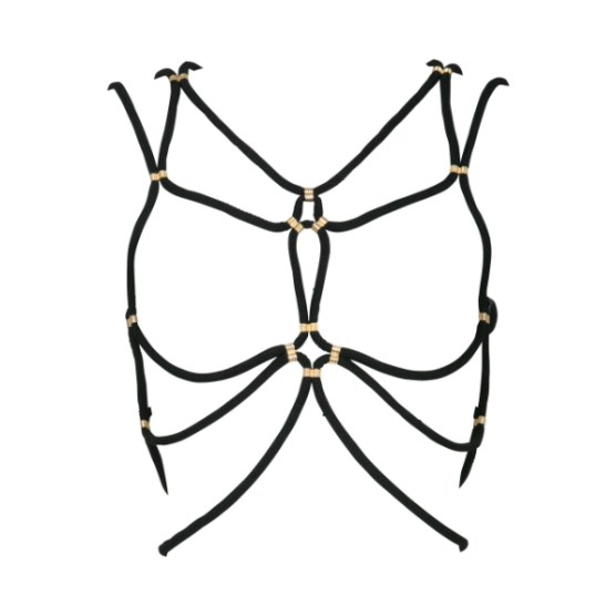 DSTM_Shibari_harness_black_and_gold__85860