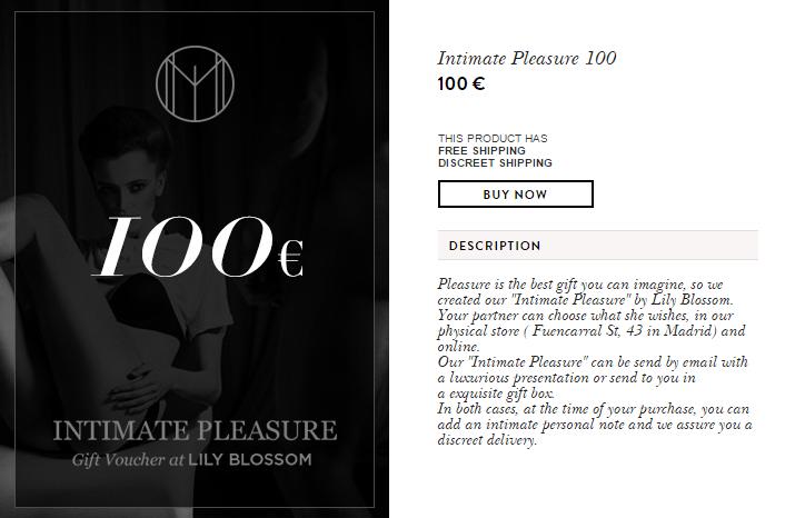 Intimate Pleasure 100   LilyBlossom