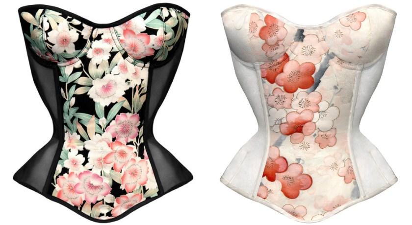 Karolina Laskowska Ayame corset, £340 с учётом скидки