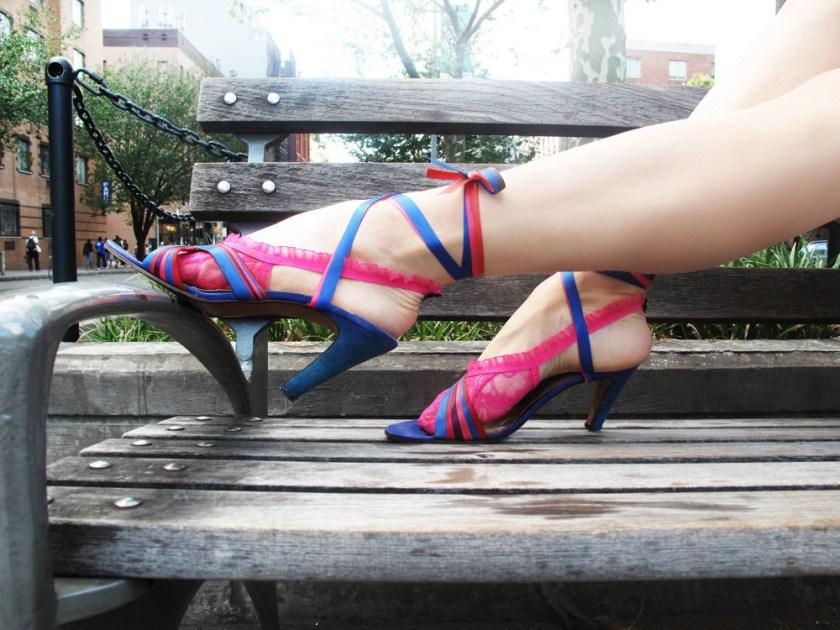 Patricia Field foot panties