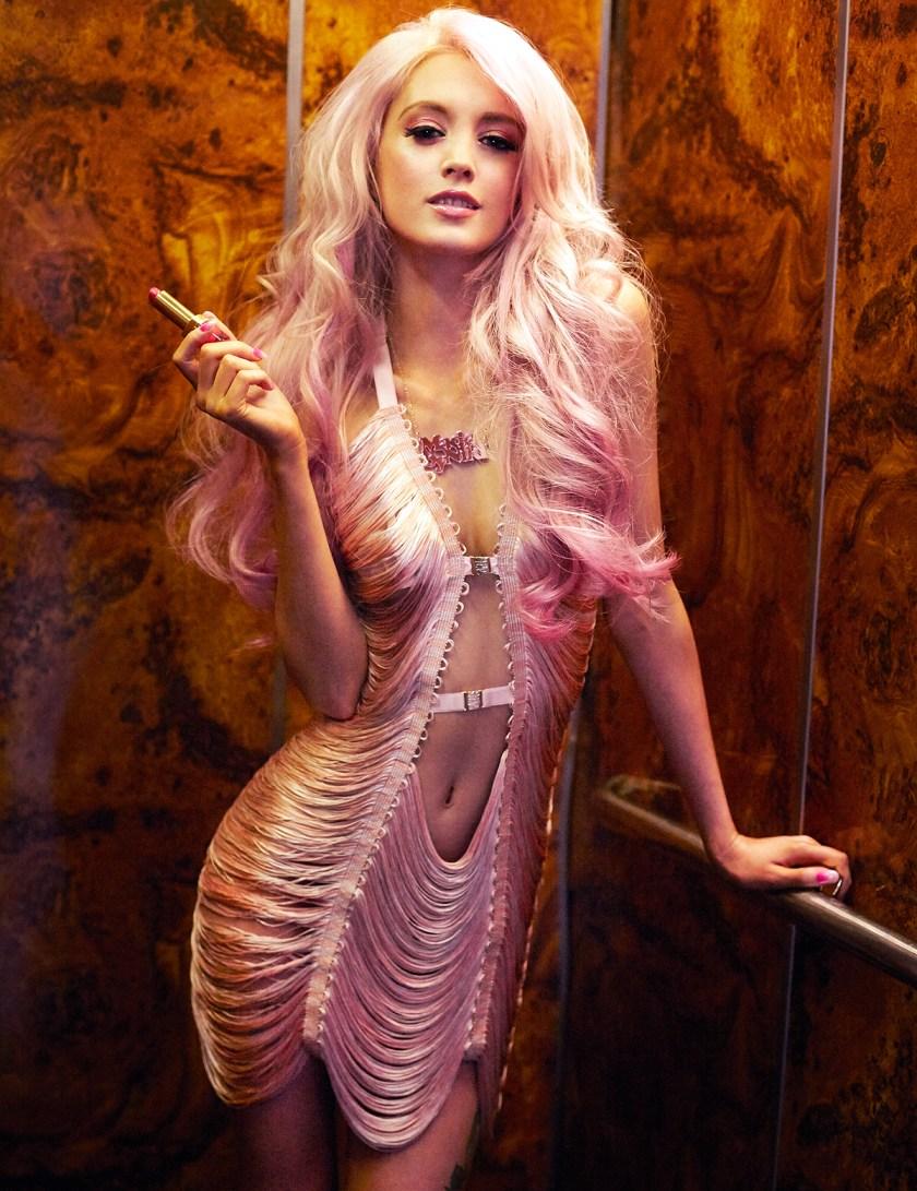 Мини-платье Love Your Body от Lascivious, цена £124.50 вместо £249