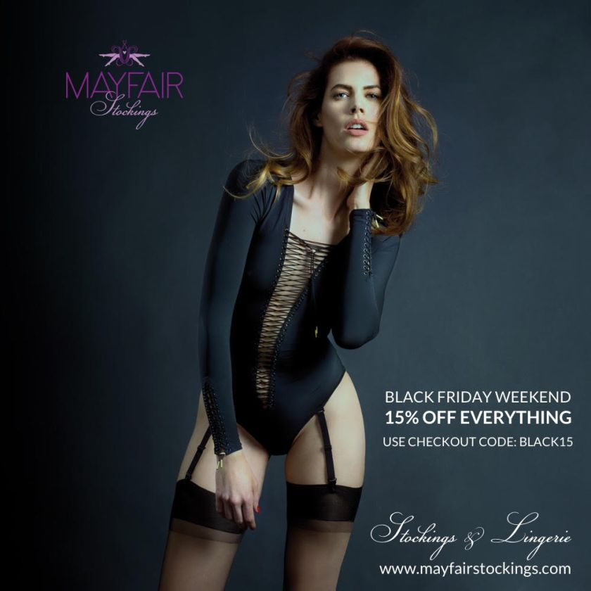 Mayfair Stockings and MayfairLegs black friday sales