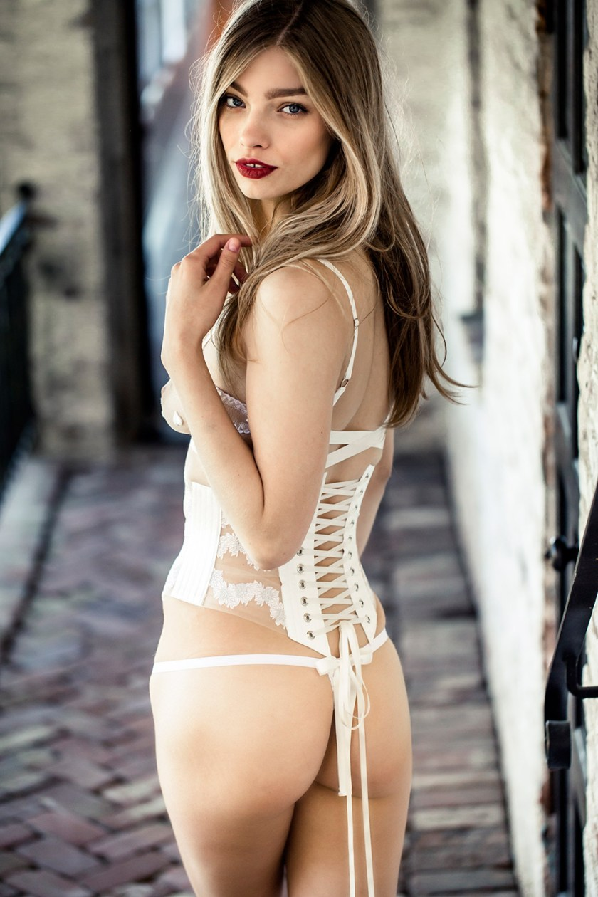 Evgenia Lingerie, SS 16, Janus collection