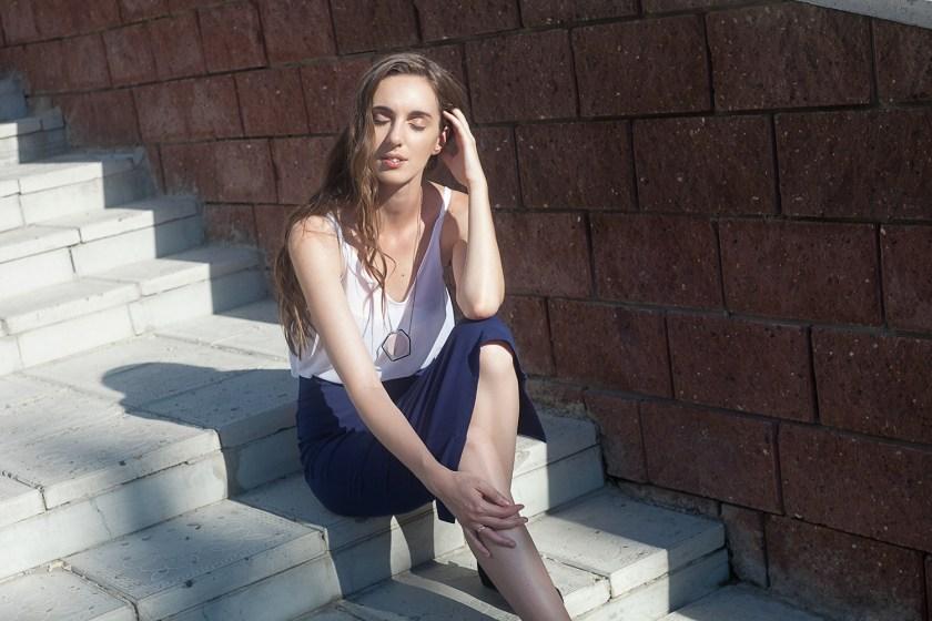 Нижнее бельё в качестве верхней одежды. День 3: Бра и прозрачный топ. Garterblog.ru