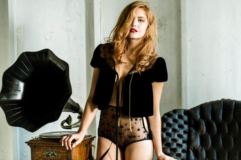 Evgenia Lingerie Rebelle collection, aw 2016-2017