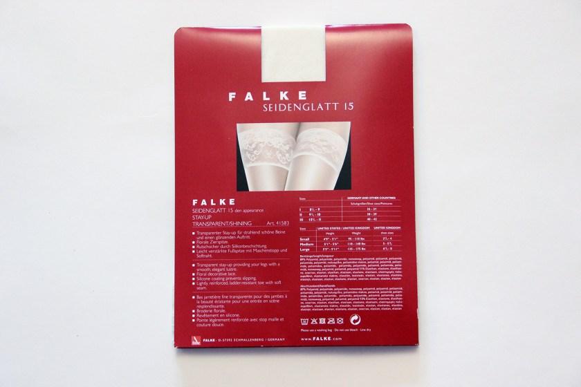 Обзор чулок на силиконе Falke Seidenglatt