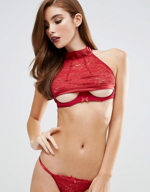 Coco de Mer, Red Room halter bra