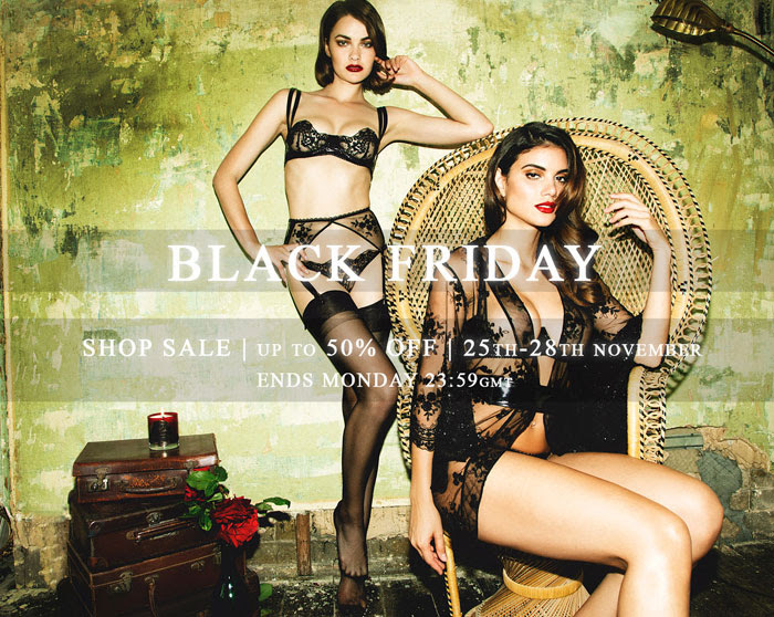 Loveday London Black Friday 2016 lingerie sale