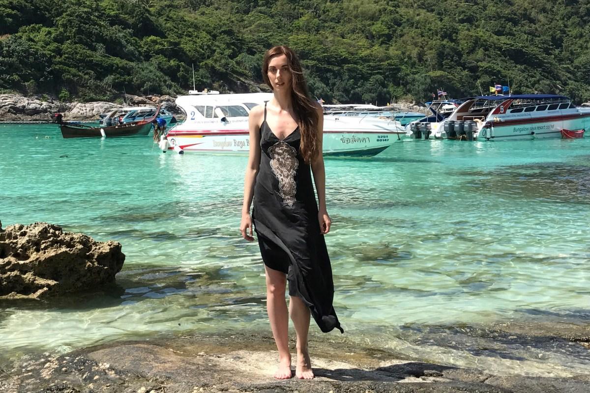 Обзор будуарного платья Club от Shell Belle Couture в журнале GB {Garterblog.ru}