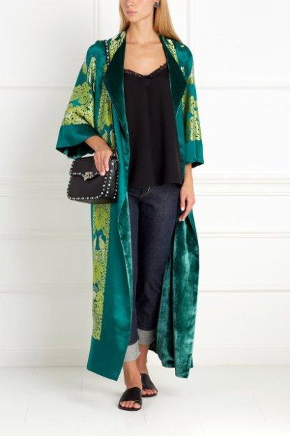 Шелковый халат Irma de Flore SINAZE, 155800 Р