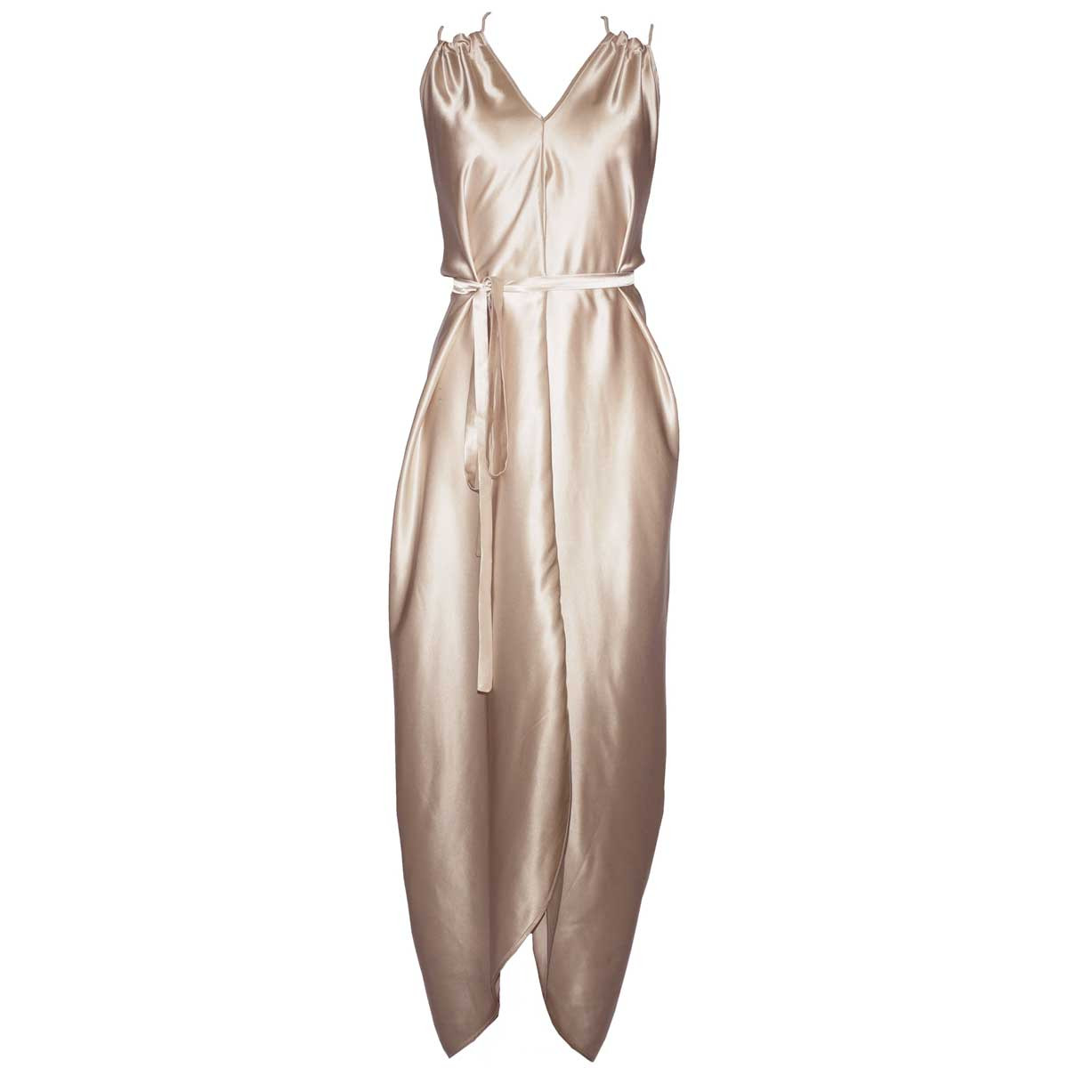 Шелковое летнее платье Diamond от DSTM