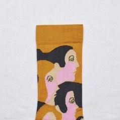 Носки с лицами Bonne Maison Honey Profile socks 19,00€