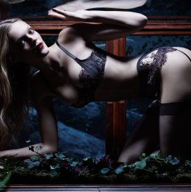 Coco de Mer AW17 Lingerie Collection. Luxuriance And A Little Bit Of Voyeurism