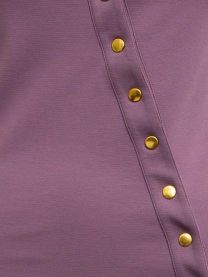 Uncover Dress violet detail