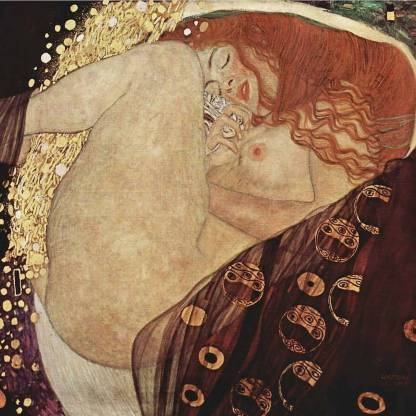 Gustav Klimt 'Danae'