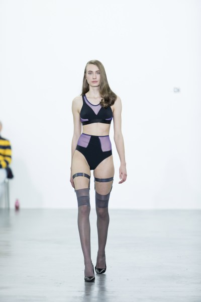 LYN Lingerie fashion show in Zurich ModeSuisse Edition13. Photo: Alexander Palacios