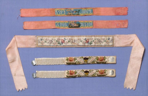 French Garter (one of a pair), early 19th century, Museum of Fine Arts Boston
