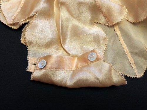 Винтажный шёлковый ромпер Англии 30х. История и детали. Bourne & Hollingsworth lingerie romper
