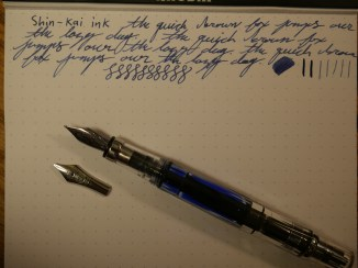 Writing Sample with the F-C nib