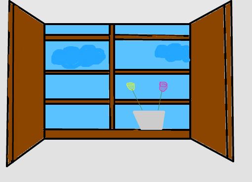 janela  Desenho de caaarolp  Gartic