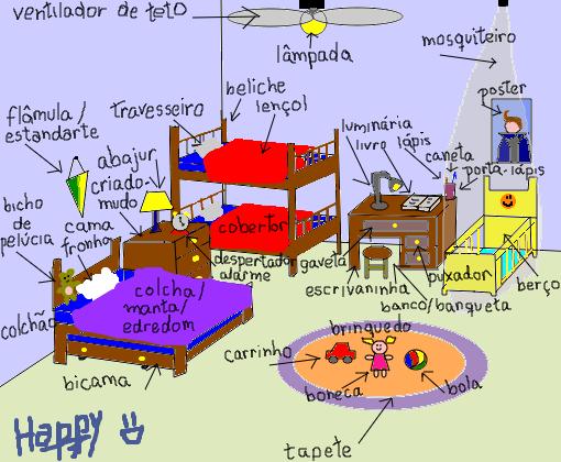 Objetos 2 Quartos 1  Desenho de danielhappy  Gartic