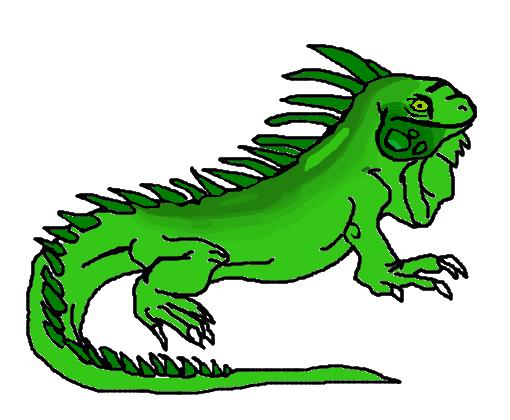 iguana  Desenho de dinozoatv21  Gartic