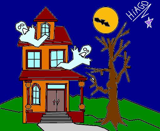 Casa Mal Assombrada 3  Desenho de hiiagoxd  Gartic