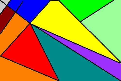 pintura geometrica  Desenho de isabellaak  Gartic