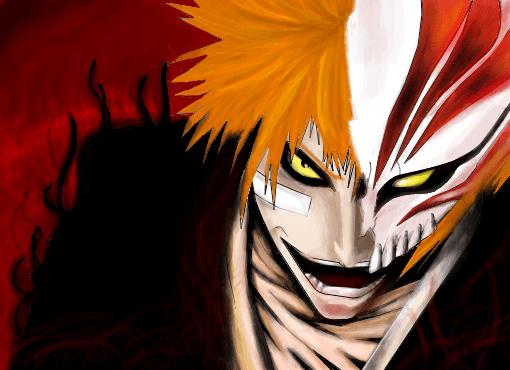 Ichigo Hollow p Algum  Desenho de misa_misah  Gartic