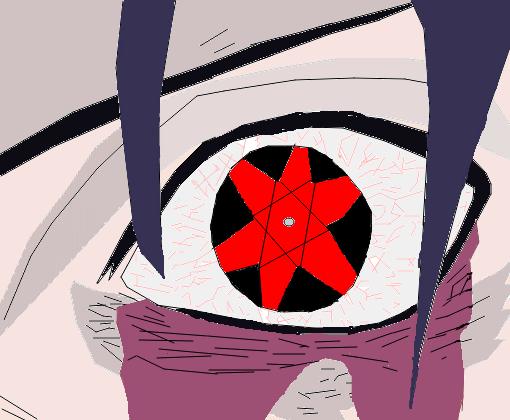 Sasuke Uchiha Mangekyo Sharingan  Desenho de naruto_uzumaki____  Gartic
