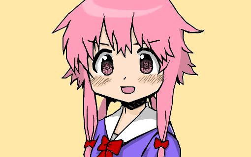 Anime Girl Android Wallpaper Gasai Yuno Kawaii Desenho De Nerddascoisas Gartic