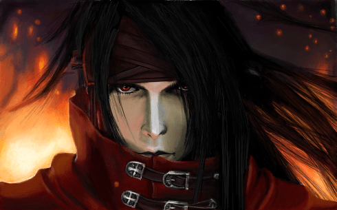 Wallpaper Hd 4k Android Vincent Valentine Final Fantasy Vii Desenho De