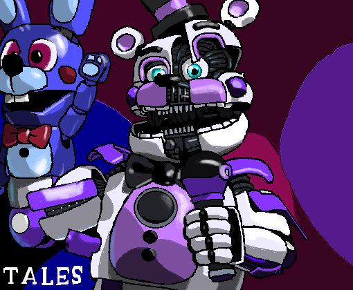Funtime Freddy VS Desenho De Tales3004 Gartic
