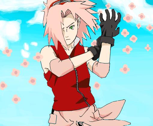 Summer Anime Wallpaper Sakura Haruno Desenho De Wagnerkof Gartic